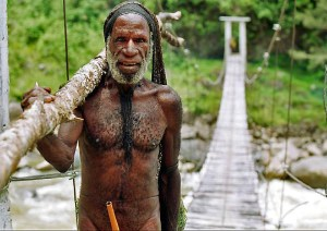 Yali tribesman, West Papua, Indonesia