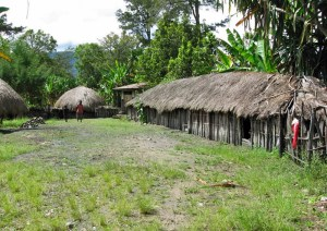 Yali village, West Papua, Indonesia