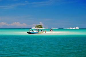 Island hopping in the Bangka Belitung Islands, Sumatra