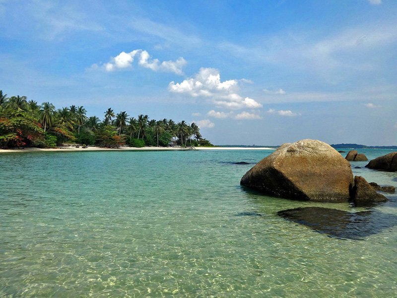 Image result for Beautiful Belitung Island