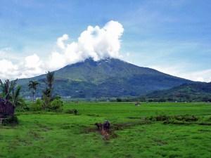 Mount Sibayak volcano, Sumatra, Indonesia