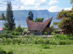 Tradtional Batak house, Sumatra, Indonesia