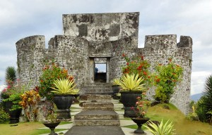 Benteng Tolukko, Ternate Island, Indonesia