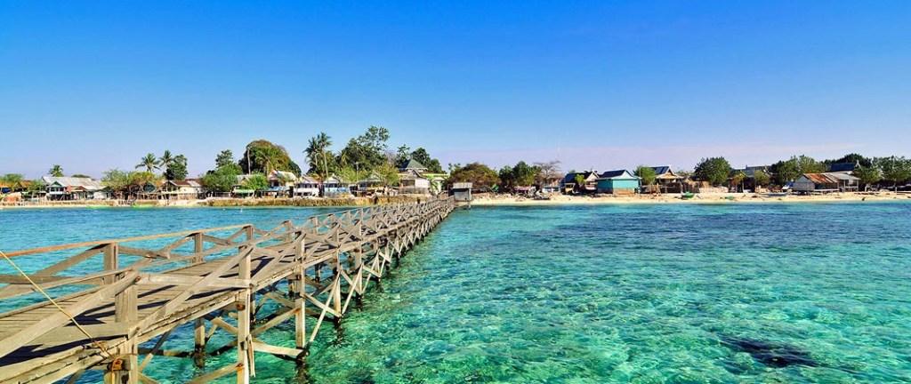 Badi Island in the Spermonde Archipelago, South Sulawesi