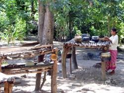 Boti villager, West Timor, Indonesia