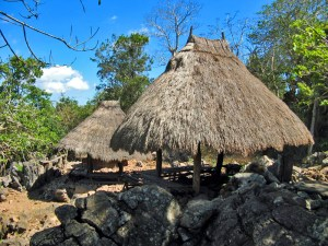 "Traditional ""lopo"" in Tamkesi village"