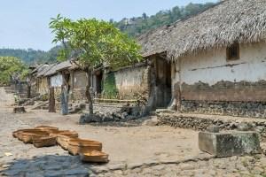 Tenganan traditional Bali Aga village, Bali, Indonesia