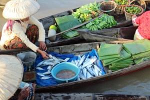 Lok Baintan floating market, Banjarmasin, Kalimantan