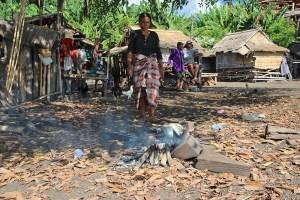 Sangeang Api island village, Sumbawa, Indonesia