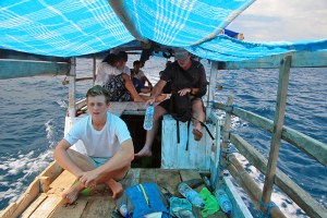 Local charter boat to Moyo Island from Sumbawa Besar, Indonesia