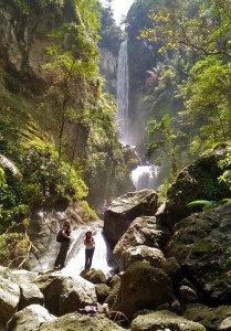 Agal Waterfall near Marente Village, West Sumbawa, Indonesia