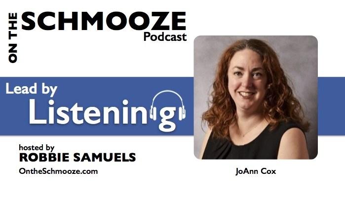 Lead by Listening - JoAnn Cox