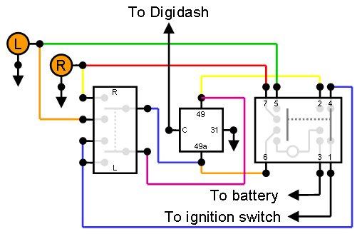 Wiring Diagram For Car Flasher Unit Wiring Diagram