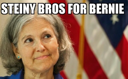 Dr. Jill Stein. I'm With Her, Not The $Hill
