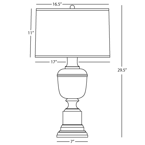 4 way rotary switch lamp