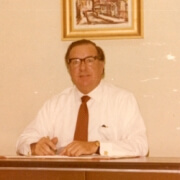 Robert Eric Hill when about 56 in Qatar