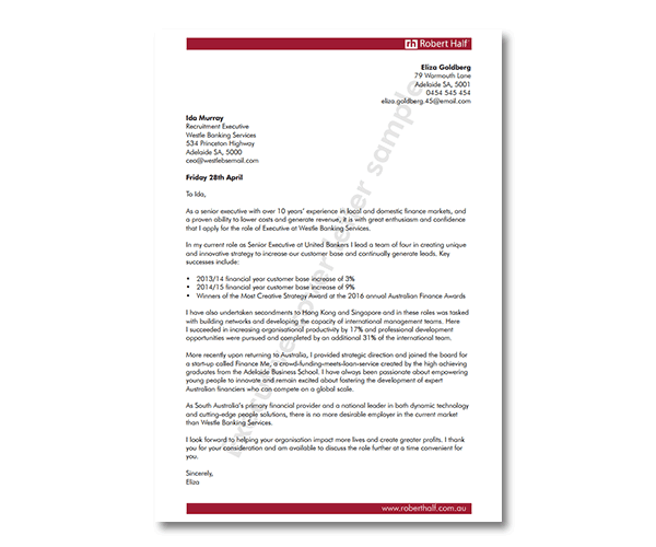 is a cover letter necessary when submitting a resume