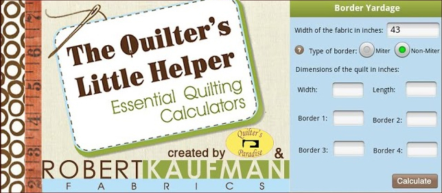 Quilting Calculators App