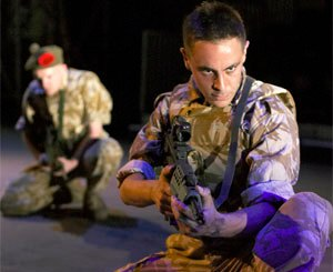 A scene from Black Watch which can be seen at the upcoming Belfast Festival at Queen's
