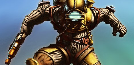 Photoshop Tutorial: Bioshock Videogame Digital Painting