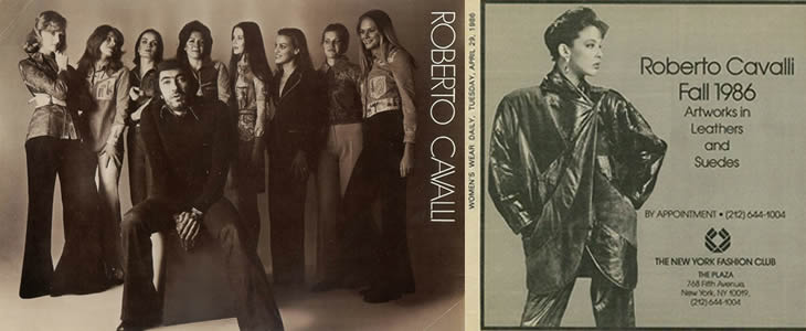 Roberto Cavalli - early years