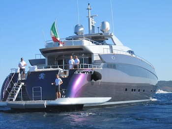 The Mega-Yacht