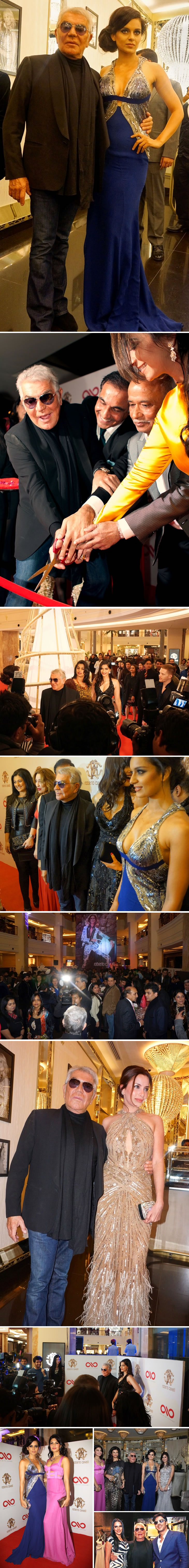 Roberto Cavalli - Grand Opening New Delhi Boutique