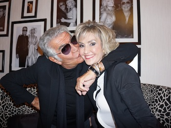 Roberto Cavalli with Mimi Salam