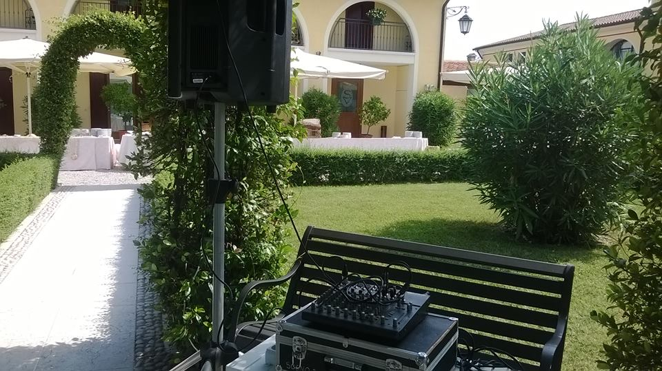 03-09-2016 – DJ per Wedding Party @ Villa Serena – Montebelluna – DJ Roberto Sorbara