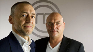 Michel Roux Jnr and Gregg Wallace, judges.