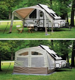 Small Of A Frame Camper