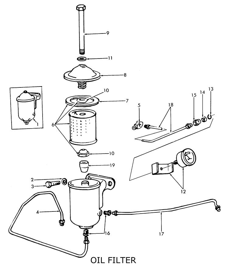 fuel filter gas sediment bowl