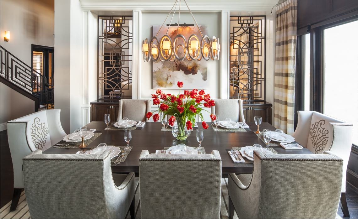 Hampton s inspired luxury dining room 1 1 after