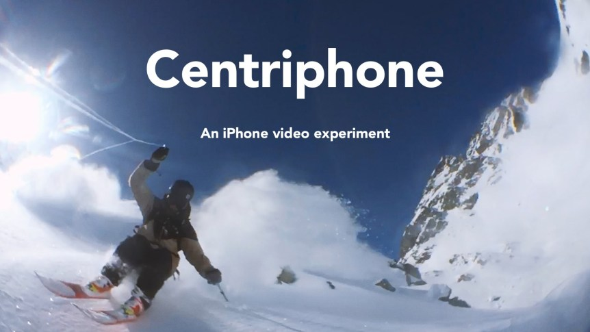 Guy Swings iPhone 6 Around His Head While Skiing, Creates Amazing Video