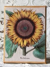 Sunflower Wall Art