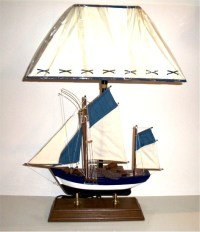 Robin's Dockside Shop - Fishing Boat Table Lamp
