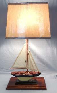 Robin's Dockside Shop - Sailboat Table Lamp