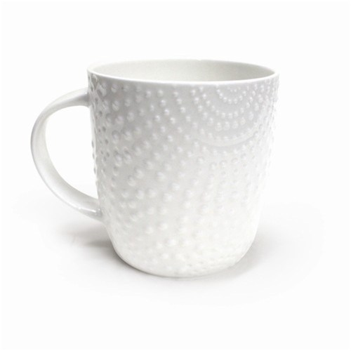 Medium Of Plain White Travel Mugs