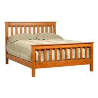 Mission Style Bed - Solid Wood Bed Frames | Robinson Clark