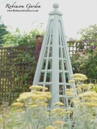 Bespoke wooden garden Obelisks - Robinson Garden