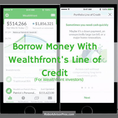 Wealthfront Portfolio Line of Credit - Great Solution for Ready Cash Needs