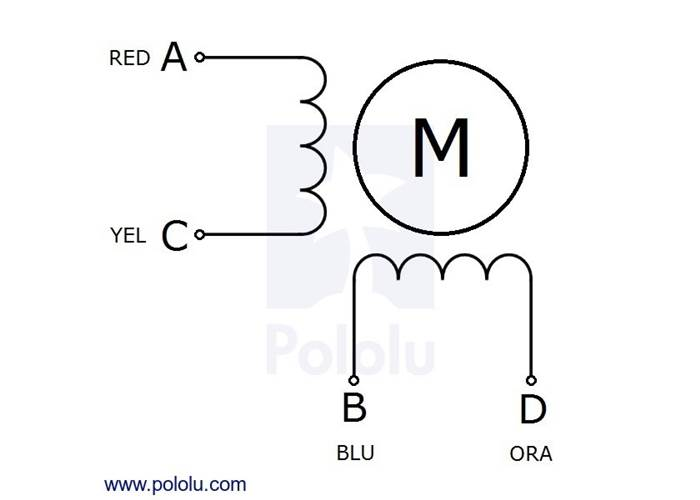 stepper motor stepper motors wiring up a bipolar stepper motor
