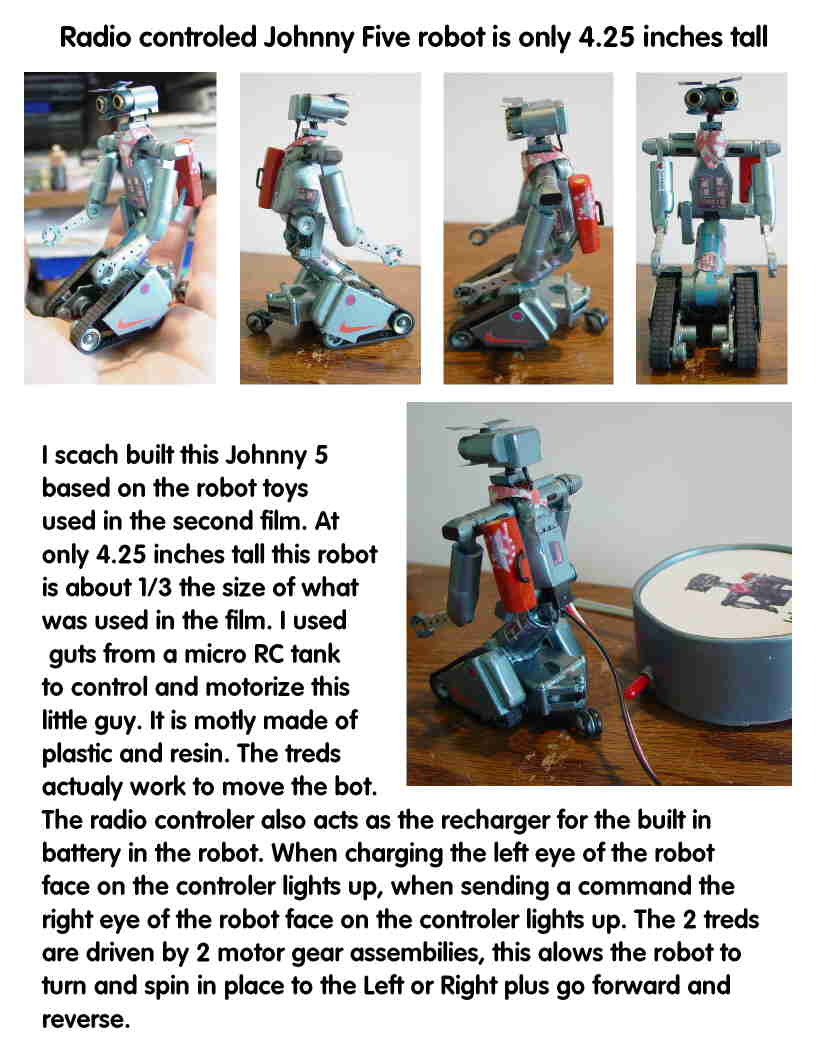 johnny 5 robot figure review rare youtube