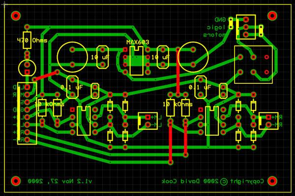 Making Printed Circuit Boards - Robot Room
