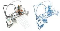 Printerception: NXT Printer prints self portrait - Robotsquare