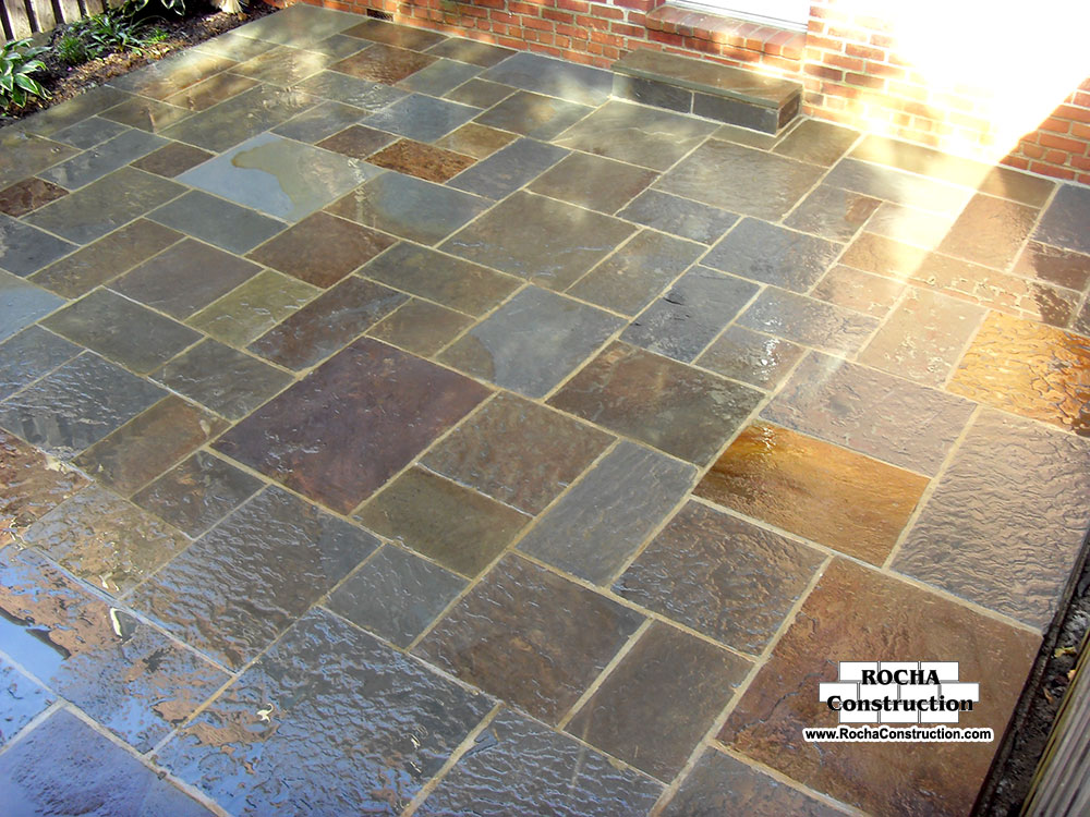 Building A Flagstone Patio Outdoor Goods