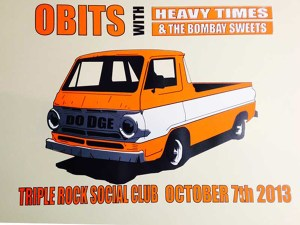 obits at the triple rock social club