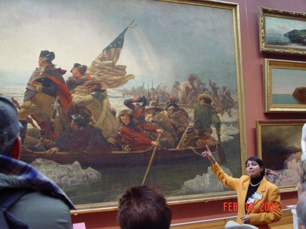 Washington Crossing the Delaware Rochelle\u0027s Roost