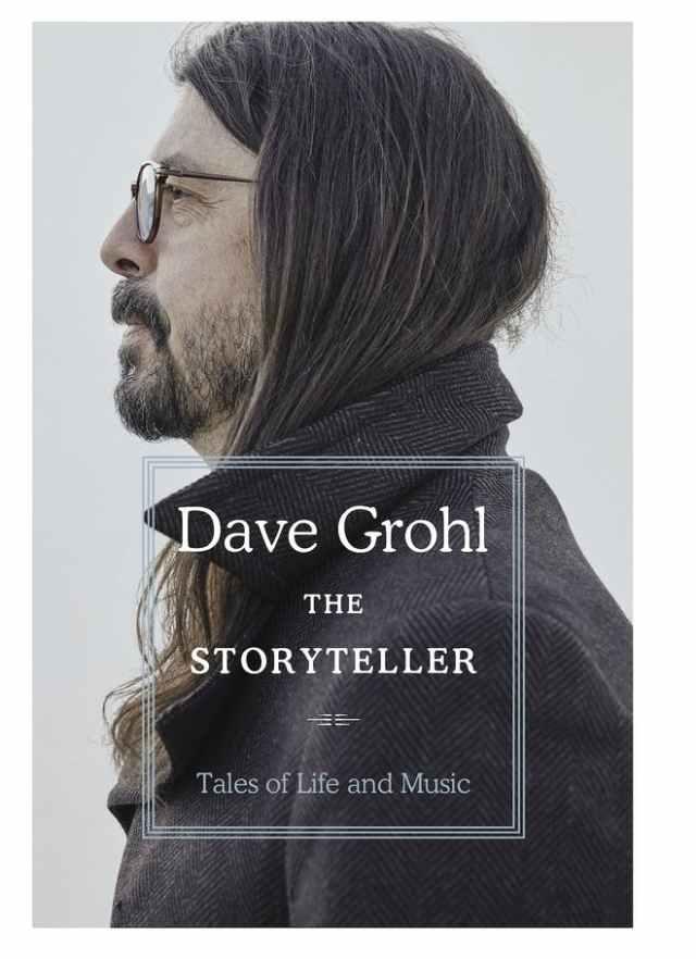 Historias de vida y música: Dave Grohl publicará un nuevo libro
