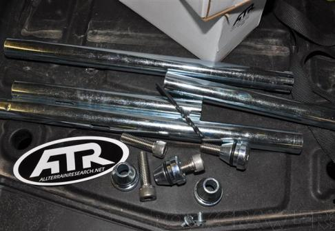 All Terrain Research Chassis Bones install on the RockCrawler RZR